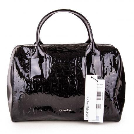 vente en magasin 39bc1 e4043 Sac à main noir Femme CALVIN KLEIN