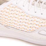 Baskets blanches 1810021 Femme LE COQ SPORTIF marque pas cher prix dégriffés destockage