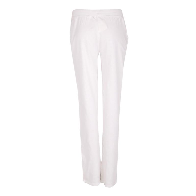 Bas de jogging blanc en coton Femme AMERICAN VINTAGE marque pas cher prix dégriffés destockage