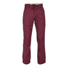 Pantalon chino bordeaux Homme VANS marque pas cher prix dégriffés destockage