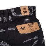 Pantalon chino noir imprimé Homme VANS marque pas cher prix dégriffés destockage