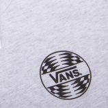 Tee shirt manches longues gris clair Homme VANS marque pas cher prix dégriffés destockage