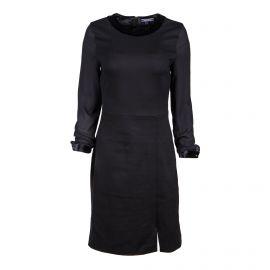 Robe noire manches longues Femme TOMMY HILFIGER
