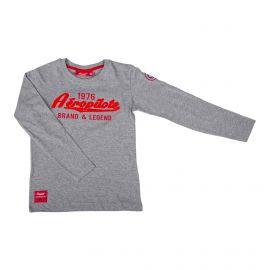 Tee shirt ml 8012 Enfant AEROPILOTE marque pas cher prix dégriffés destockage