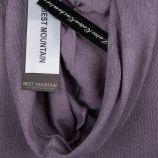 Gilet fin manches longues capuche laine coton cachemire poches coudières Femme BEST MOUNTAIN marque pas cher prix dégriffés d...