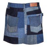 Mini jupe en pachtwork Femme ZADIG & VOLTAIRE marque pas cher prix dégriffés destockage