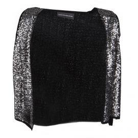 Gilet sans manches sequins laine et cachemire Femme ZADIG & VOLTAIRE marque pas cher prix dégriffés destockage