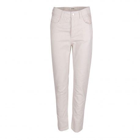 Pantalon 5 poches blanc en velours Femme ZADIG & VOLTAIRE marque pas cher prix dégriffés destockage