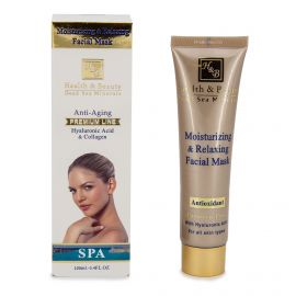 Masque visage acide hyaluronique & collagene  Femme HEALTH & BEAUTY