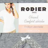 Tee shirt chaud 100% coton moyra Femme RODIER marque pas cher prix dégriffés destockage