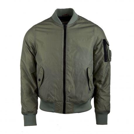 Blouson bombers léger poches rabats boutons zip Homme TOMMY HILFIGER marque pas cher prix dégriffés destockage