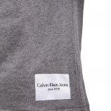 Sweat manches courtes coton mix tag cousu Homme CALVIN KLEIN marque pas cher prix dégriffés destockage