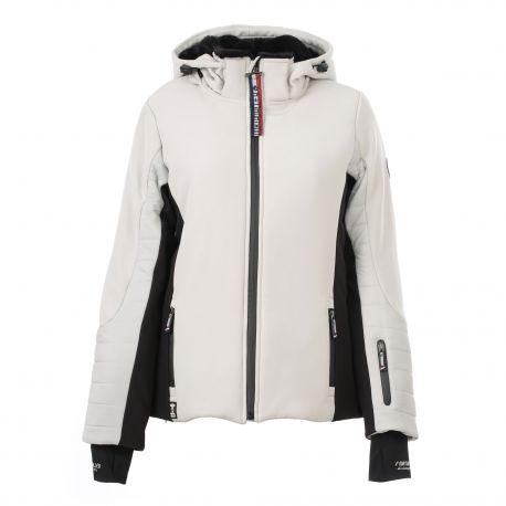 Veste ski Neyra jupe poche téléphone Femme NORTH VALLEY marque pas cher prix dégriffés destockage