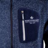 Veste polaire bi matiere Liam Homme NORTH VALLEY marque pas cher prix dégriffés destockage