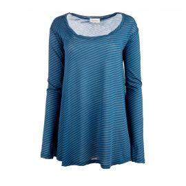 T- shirt ml land19e17 Femme AMERICAN VINTAGE marque pas cher prix dégriffés destockage