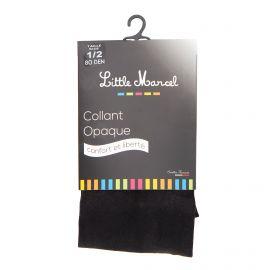 Collant opaque 80 den noir lm8006 Femme LITTLE MARCEL marque pas cher prix dégriffés destockage
