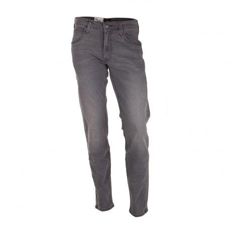 Jean Daren zip fly regular straight gris l707 pcba Homme LEE marque pas cher prix dégriffés destockage