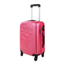 Valise cabine hot pink Marguerite hoik 48x34x21cm BRIGITTE BARDOT marque pas cher prix dégriffés destockage