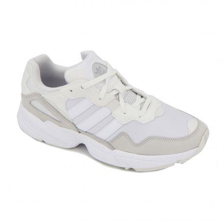 BASKETS BLANC/BEIGE YUNG-96 EE3682 Mixte Adidas marque pas cher prix dégriffés destockage