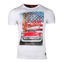 Tee-shirt mc MTS 149 SIEUR imprimé New York Homme BRAVE SOUL