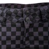Pantalon toile damier ton sur ton Femme ON YOU marque pas cher prix dégriffés destockage