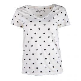 Tee shirt mc 19132f imprimé coeur Femme BEST MOUNTAIN