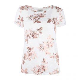 Tee shirt mc tc S19105f imprimé fleurs Femme BEST MOUNTAIN