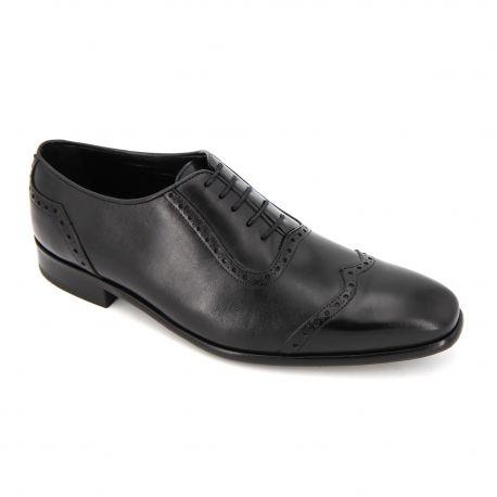 Chaussures Derbies cuir fleuri lacets Maxim Joukov Homme PIERRE CARDIN marque pas cher prix dégriffés destockage