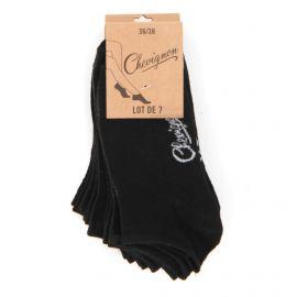 Soquettes x7 paires silvette Femme CHEVIGNON