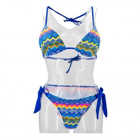Maillot de bain Sun beach 2 pieces Femme LAGUNE marque pas cher prix dégriffés destockage