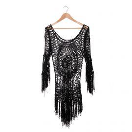 Haut tunique manches longues crochet Femme CARE OF YOU marque pas cher prix dégriffés destockage
