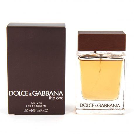 Eau de toilette The One 50ml Homme DOLCE & GABBANA marque pas cher prix dégriffés destockage