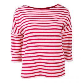 Tee shirt manches 3/4 Femme TOMMY HILFIGER marque pas cher prix dégriffés destockage