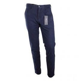 Pantalon toile armurée coton strech slim TH Flex Homme TOMMY HILFIGER marque pas cher prix dégriffés destockage