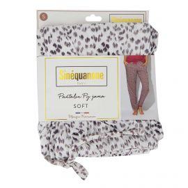 Pantalon de pyjama imprimé moucheté Penka Femme SINEQUANONE marque pas cher prix dégriffés destockage