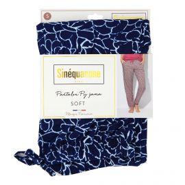 Pantalon de pyjama imprimé fleurs XXL Penka Femme SINEQUANONE marque pas cher prix dégriffés destockage