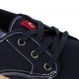 Baskets basses toile légère semelle corde lacets Homme MTNG marque pas cher prix dégriffés destockage