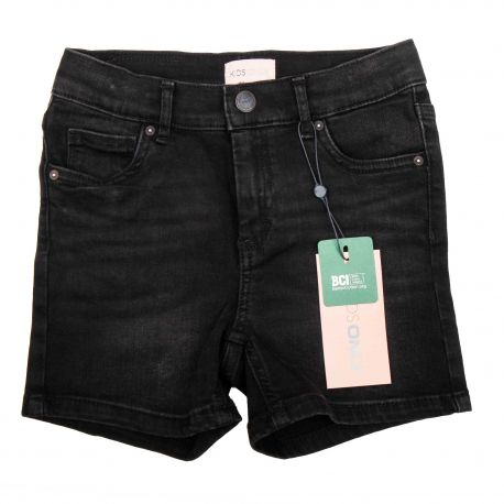 Short long jean coton BCI doux stretch Enfant KIDS ONLY marque pas cher prix dégriffés destockage