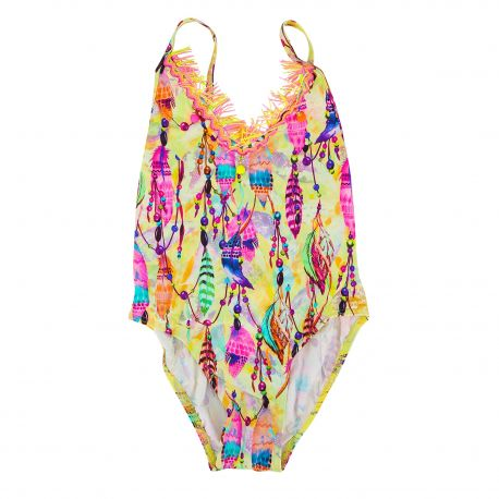 Maillot 1 piece Enfant PATE DE SABLE