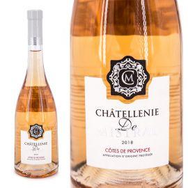 Vin rosé AOP Côtes de Provence 75 CL 2018 Châtellenie De Mistral