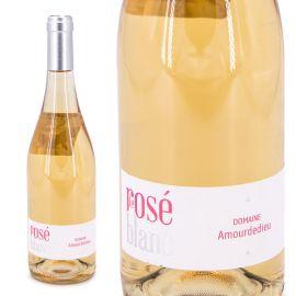 Vin rosé Le Rosé blanc IGP Méditerranée 75 CL 2018 Domaine Amourdedieu