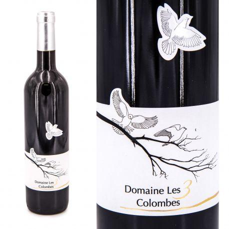Vin rouge IGP Gard 75CL 2017 Domaine des 3 Colombes marque pas cher prix dégriffés destockage