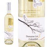 Vin blanc IGP Gard 75CL 2017 Domaine des 3 Colombes
