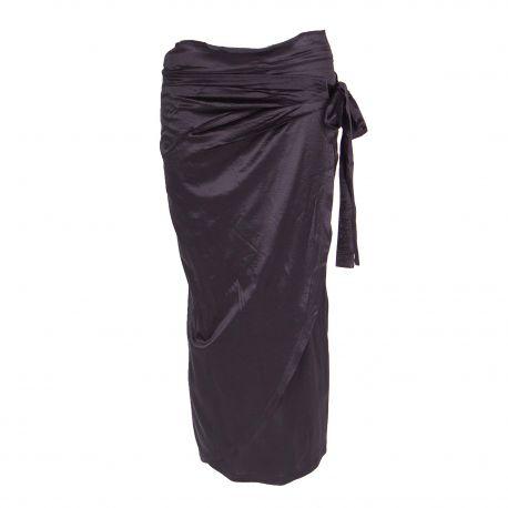 Jupe mi longue 23032285 Femme OBJECT marque pas cher prix dégriffés destockage