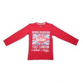 Tee shirt ml glc543 du 4 au 14 ans Enfant LEE COOPER marque pas cher prix dégriffés destockage