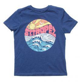 Tee shirt manches courtes floqué Saint Tropez Enfant NAME IT marque pas cher prix dégriffés destockage