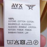 Tee shirt mc ax0307 Homme AVIREX marque pas cher prix dégriffés destockage