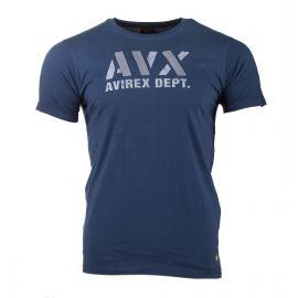 Tee shirt mc ax0318 Homme AVIREX marque pas cher prix dégriffés destockage