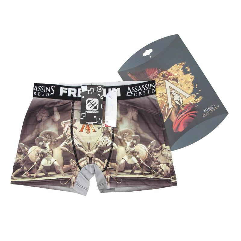 Boxer Assassins Creed Odyssey Homme FREEGUN marque pas cher prix dégriffés destockage