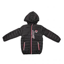 Doudoune fine manches longues capuche déperlant ouatiné poches zip Enfant RG512 marque pas cher prix dégriffés destockage